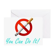 No Smoking Tee33 Greeting Card