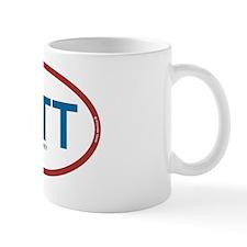 mitt oval ccolors rec 1 Small Mug