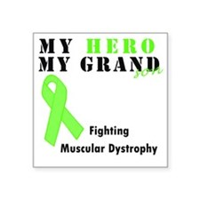 "Hero MD grandson Square Sticker 3"" x 3"""