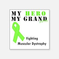"""Hero MD grandson Square Sticker 3"""" x 3"""""""