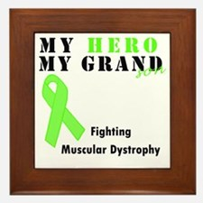 Hero MD grandson Framed Tile