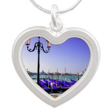 calendar1 Silver Heart Necklace