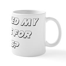 Shaved B light Mug