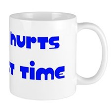 Hurts Blue Dark Mug