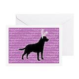 Golden gate labrador retriever rescue Greeting Cards (10 Pack)