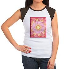 IansaBorder5inch2 Women's Cap Sleeve T-Shirt