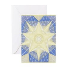 TempoBorder5inch Greeting Card