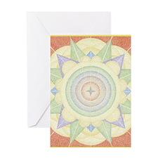 OxumareBorder5inch Greeting Card