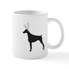 Doberman Bunny Mug