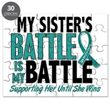 D My Battle Too Sister Ovarian Cancer Puzzle