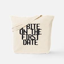 bite copy Tote Bag