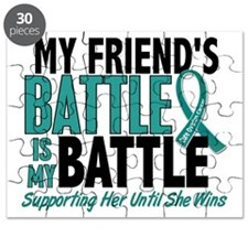 D My Battle Too Friend Ovarian Cancer Puzzle