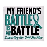 Ovarian cancer Fleece Blankets