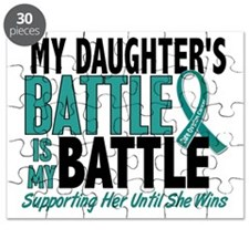 D My Battle Too Daughter Ovarian Cancer Puzzle