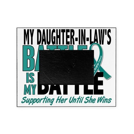 D My Battle Too Daughter-In-Law Ovar Picture Frame