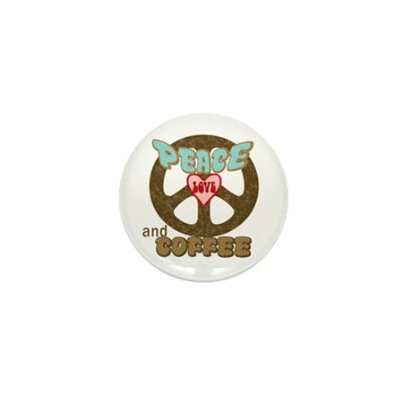 EVERYONE LOVES COFFEE! Mini Button (100 pack)