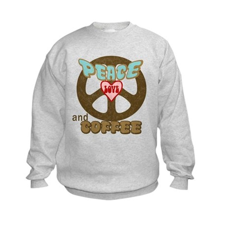EVERYONE LOVES COFFEE! Kids Sweatshirt