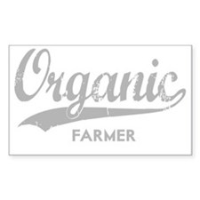 Organic Farmer for dark Decal