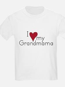 I love my Grandmama Kids T-Shirt