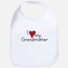 I love my Grandmother Bib