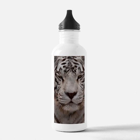 (10p) White Tiger 4 Water Bottle