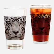 (14) White Tiger 4 Drinking Glass