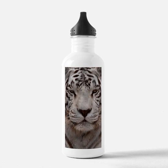 (9) White Tiger 4 Water Bottle