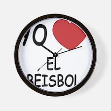 EL_BEISBOL Wall Clock