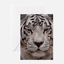 (12p) White Tiger 4 Greeting Card