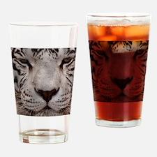 (12) White Tiger 4 Drinking Glass