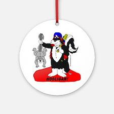 hooligan Round Ornament