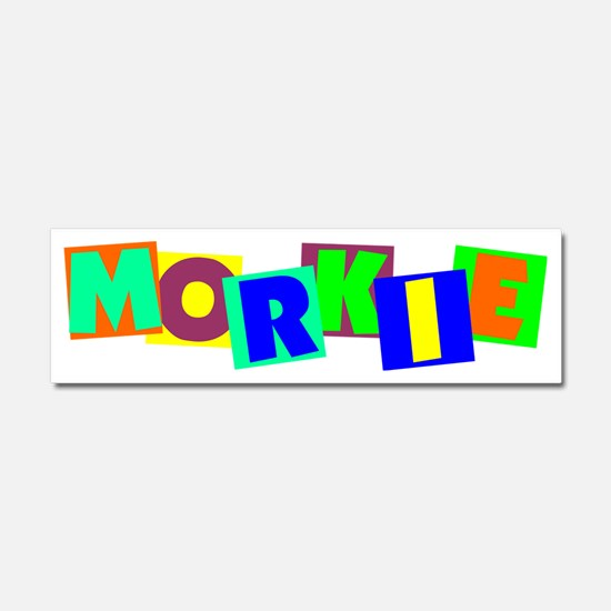 morkieblocks Car Magnet 10 x 3