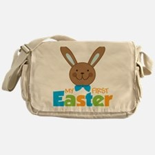 1stEasterBunny Messenger Bag