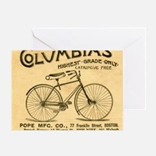 bike columbias  Greeting Card