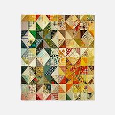 patchwk 11x11_pillow Throw Blanket