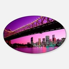 large print_0052_Australia1 (2) Sticker (Oval)