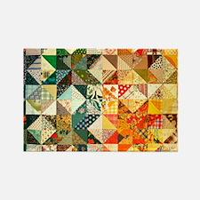 patchwk_puzzle_v Rectangle Magnet