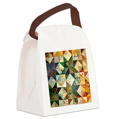 patchwk_Tile2 Canvas Lunch Bag