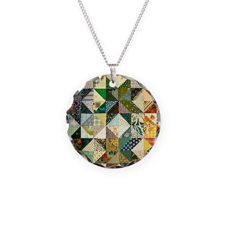 patchwk_Tile2 Necklace Circle Charm