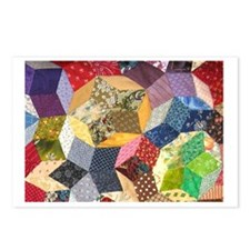 Blocks 2_7.5x5.5_card Postcards (Package of 8)
