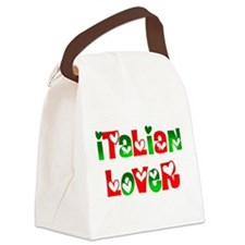 Italian Lover Canvas Lunch Bag