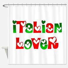 Italian Lover Shower Curtain