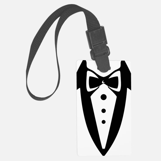 suit2 Luggage Tag
