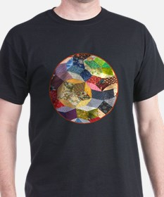 Quilt two _Button_Lg T-Shirt