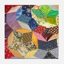 Quilt2 11x11_pillow Tile Coaster
