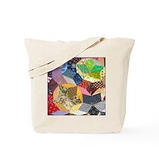 Quilt2 11x11_pillow Tote Bag