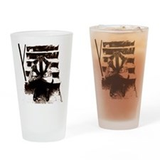 Wolves Drinking Glass