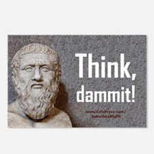 Think Dammit Postcards (Package of 8)