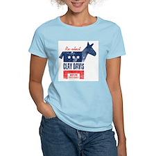 reelectClayDavis_print_11x17 T-Shirt