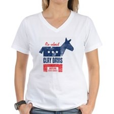 reelectClayDavis_print_11x1 Shirt